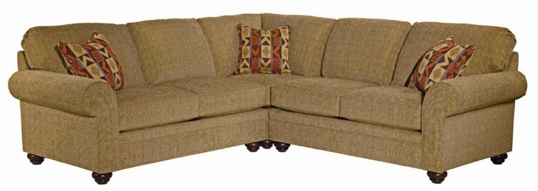 Broyhill Furniture Choices Upholstery <b>Customizable</b> Sectional Sofa - Item Number: A121-2+9+1