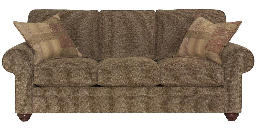 Broyhill Furniture Choices Upholstery <b>Customizable</b> 87 Inch Standard Sofa - Item Number: B111-3
