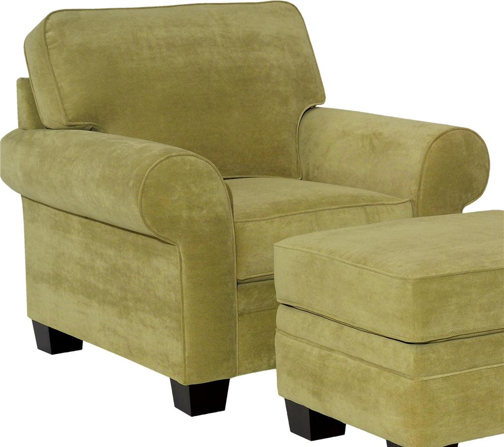 Broyhill Furniture Choices Upholstery <b>Customizable</b> Chair - Item Number: B112-0