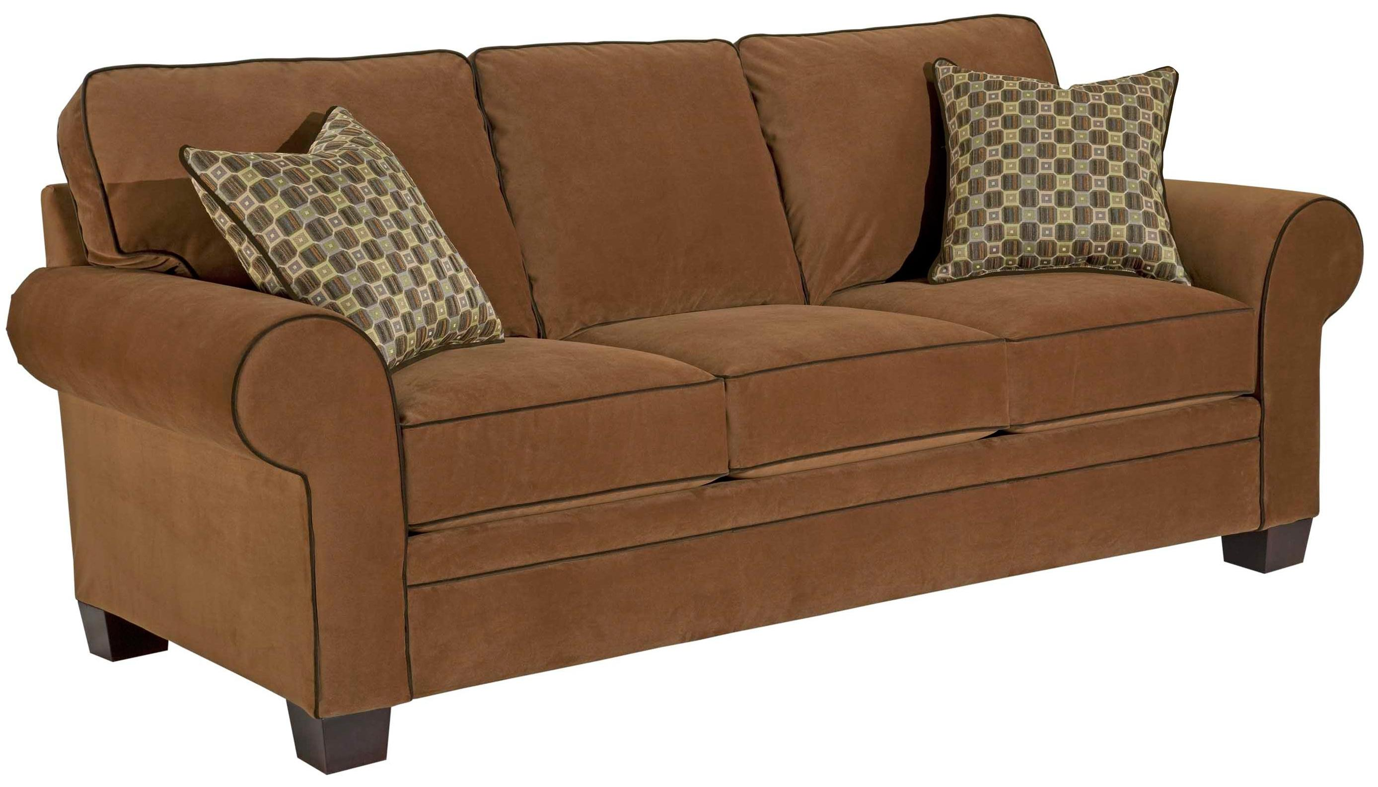 Broyhill Furniture Choices Upholstery <b>Customizable</b> 87 Inch Standard Sofa - Item Number: B112-3