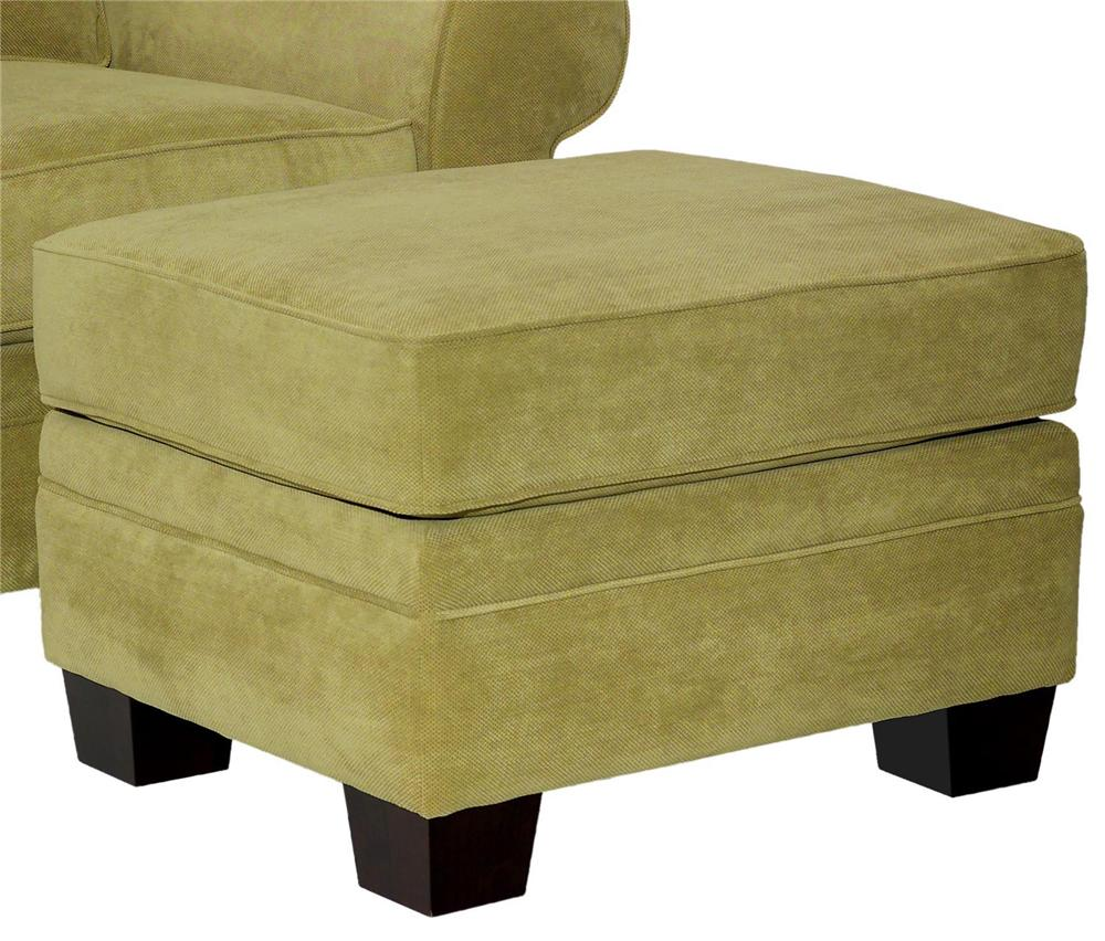 Broyhill Furniture Choices Upholstery <b>Customizable</b> Ottoman - Item Number: B112-5