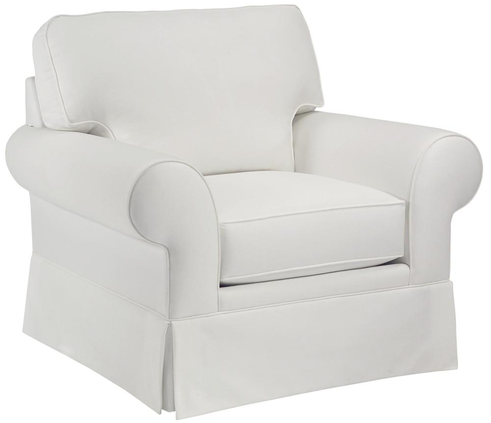 Broyhill Furniture Choices Upholstery <b>Customizable</b> Chair - Item Number: B113-0