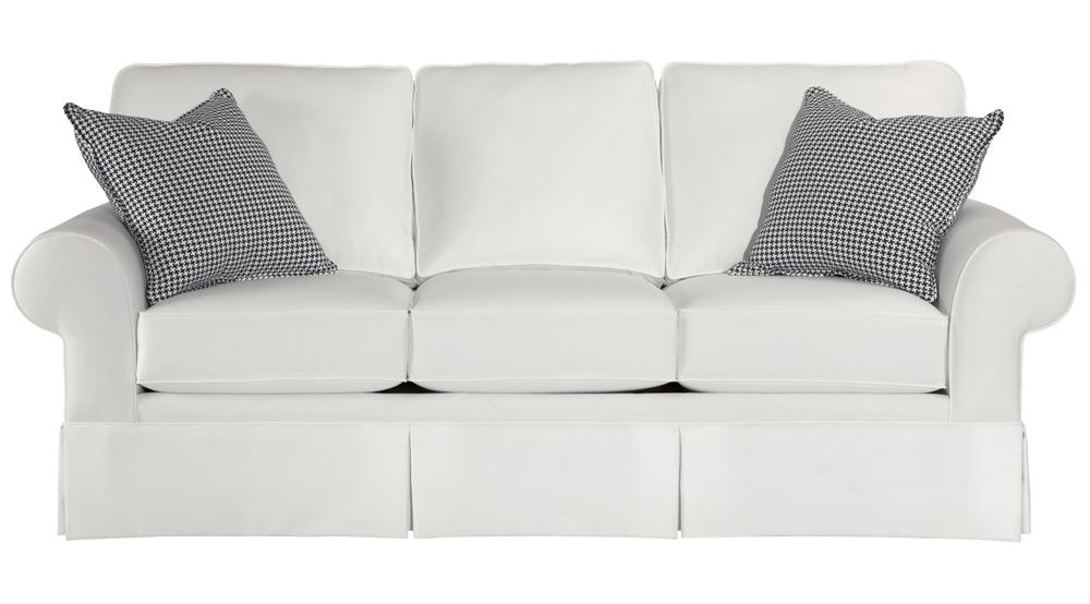 Broyhill Furniture Choices Upholstery <b>Customizable</b> 87 Inch Standard Sofa - Item Number: B113-3