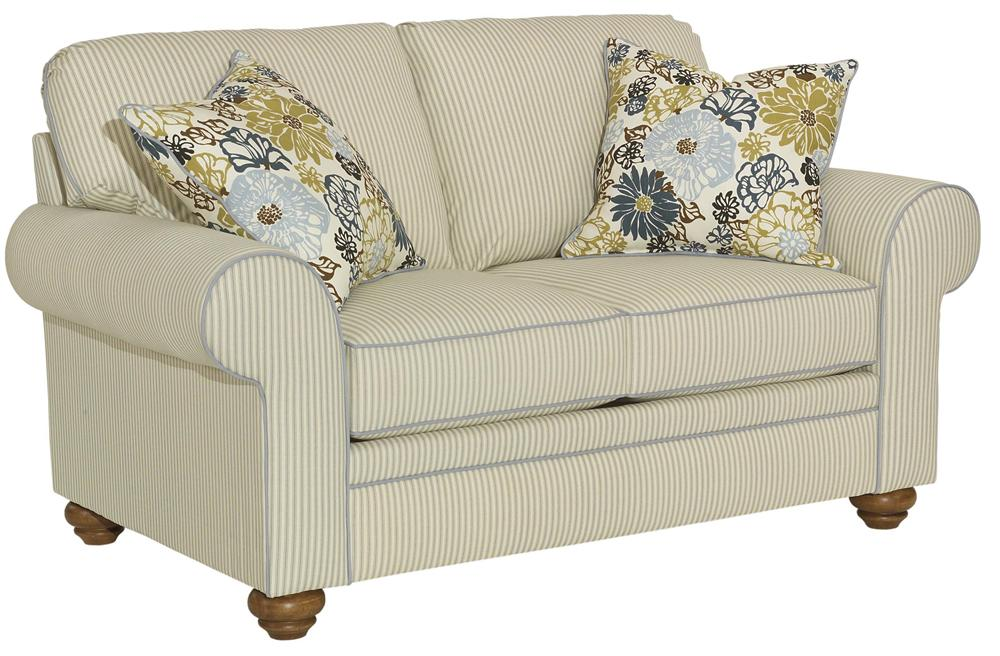 Broyhill Furniture Choices Upholstery <b>Customizable</b>  Loveseat - Item Number: B121-1