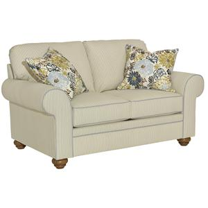 Broyhill Furniture Choices Upholstery <b>Customizable</b>  Loveseat