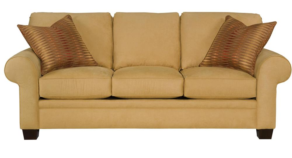 Broyhill Furniture Choices Upholstery <b>Customizable</b> 87 Inch Standard Sofa - Item Number: B122-3