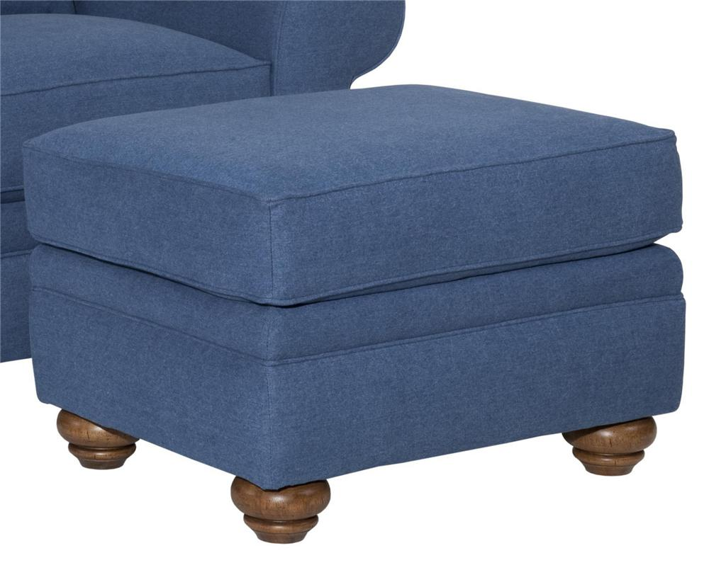 Broyhill Furniture Choices Upholstery <b>Customizable</b> Ottoman - Item Number: B131-5