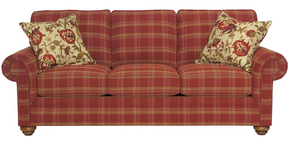 Broyhill Furniture Choices Upholstery <b>Customizable</b> 87 Inch Standard Sofa - Item Number: B211-3