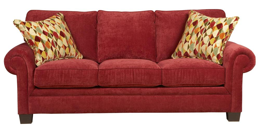 Broyhill Furniture Choices Upholstery <b>Customizable</b> 87 Inch Standard Sofa - Item Number: B212-3