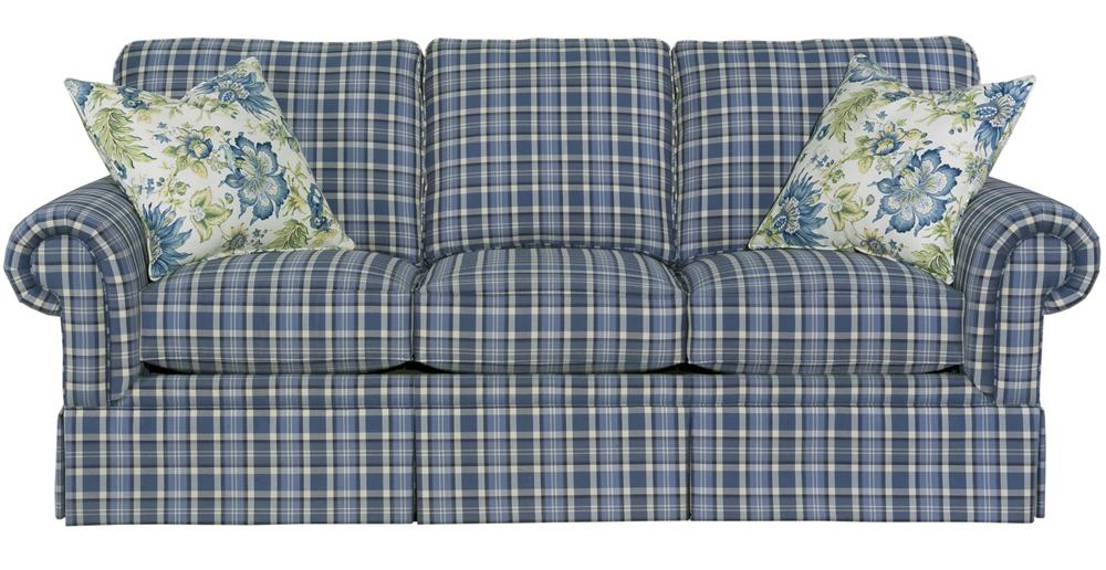 Broyhill Furniture Choices Upholstery <b>Customizable</b> 87 Inch Standard Sofa - Item Number: B213-3