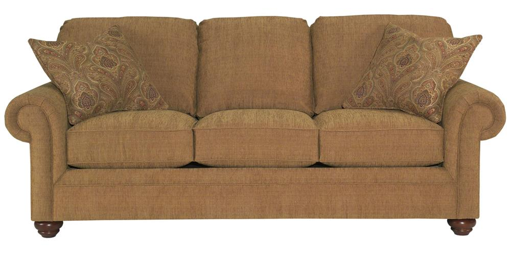 Broyhill Furniture Choices Upholstery <b>Customizable</b> 87 Inch Standard Sofa - Item Number: B221-3