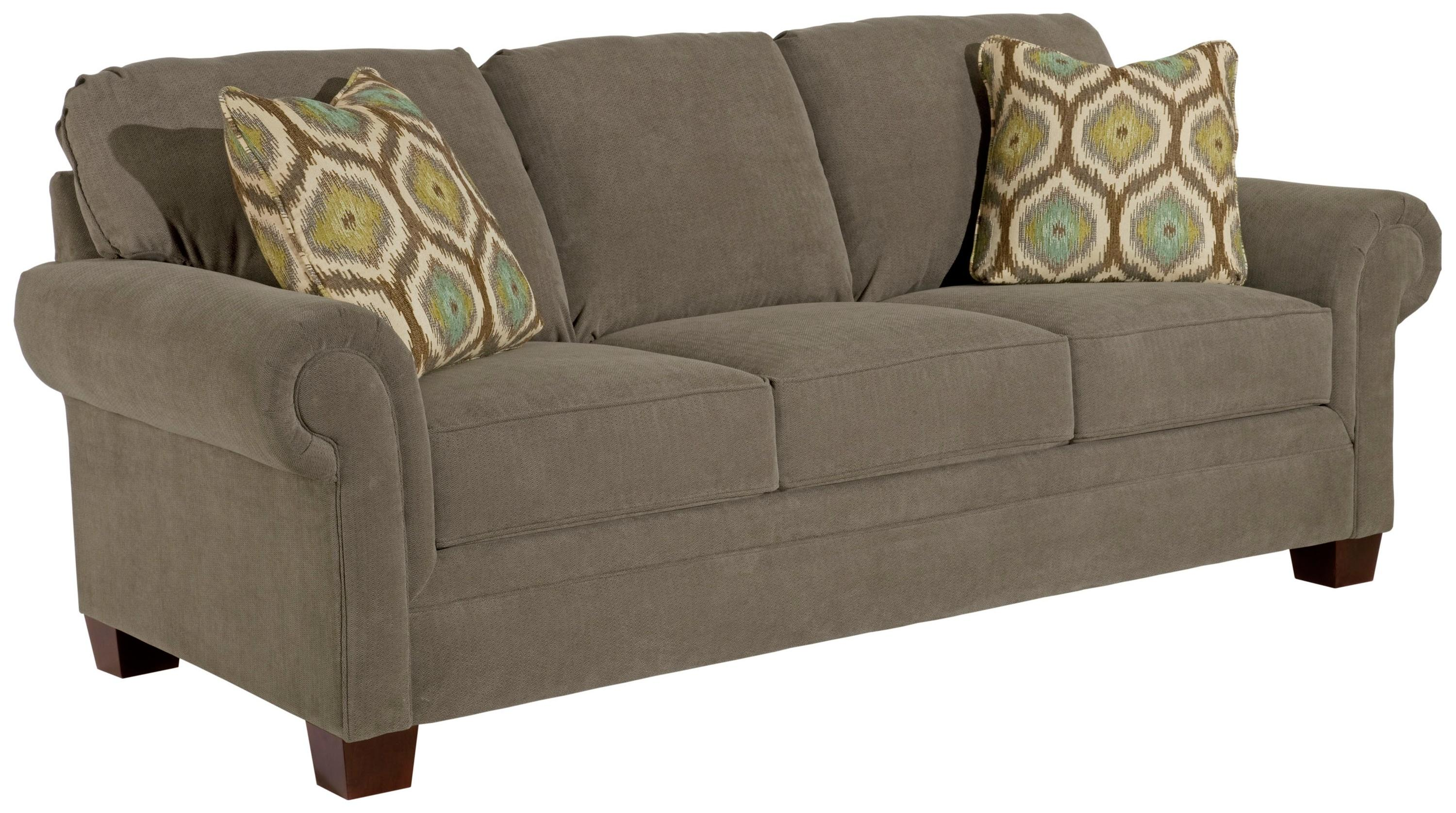 Broyhill Furniture Choices Upholstery <b>Customizable</b> 87 Inch Standard Sofa - Item Number: B222-3