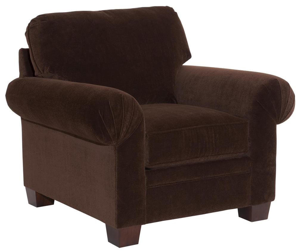 Broyhill Furniture Choices Upholstery <b>Customizable</b> Chair  - Item Number: B322-0