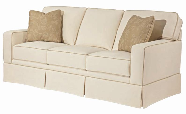 Broyhill Furniture Choices Upholstery 80 Inch Standard Sofa With