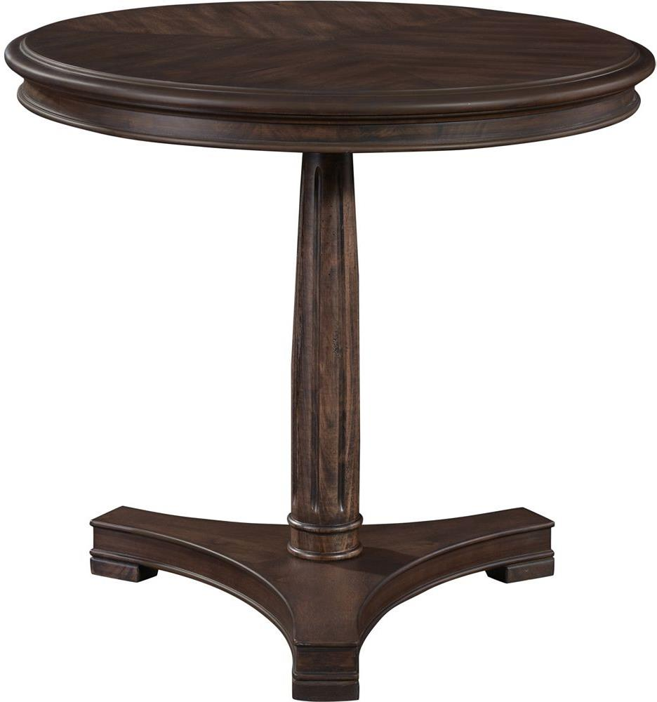 Broyhill Furniture Cranford Round Lamp Table - Item Number: 3182-012