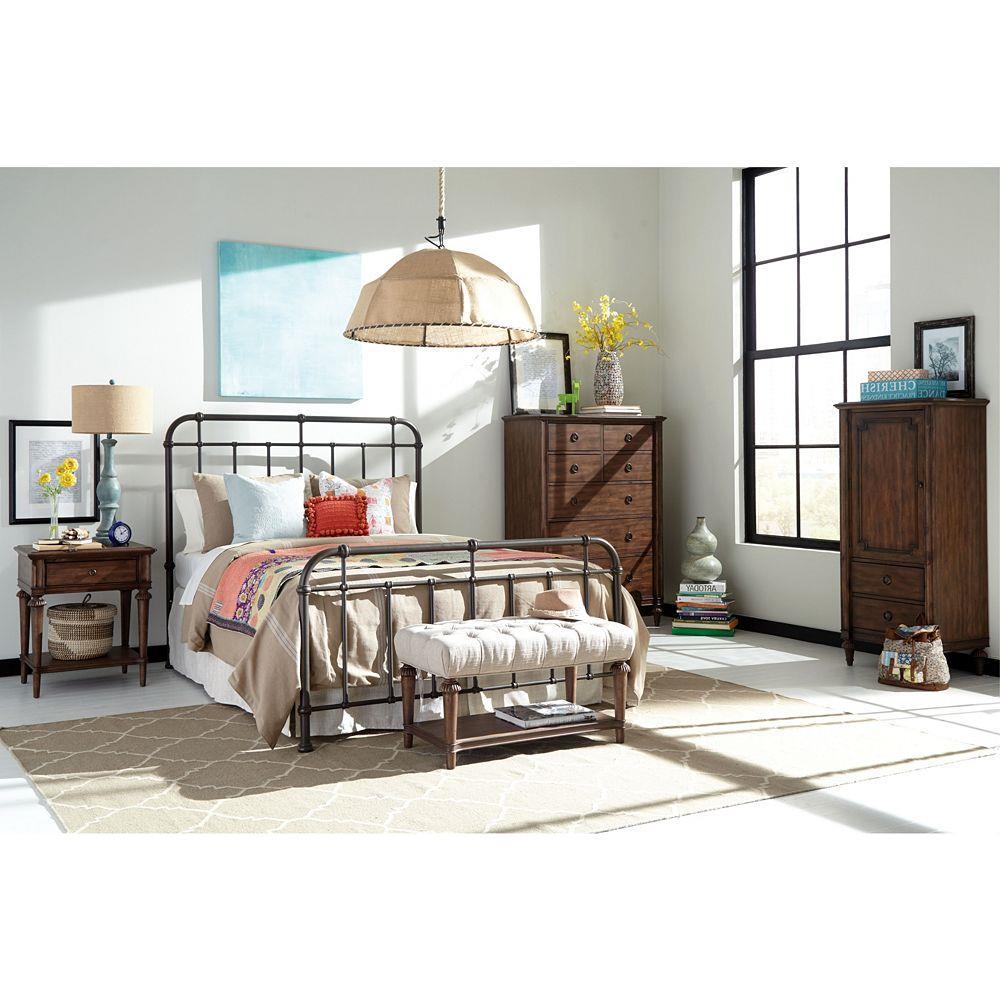 Broyhill Furniture Cranford Queen Bedroom Group - Item Number: 4800 Q Bedroom Group 1