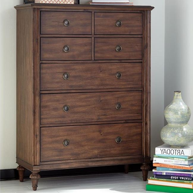 Broyhill Furniture Cranford 7 Drawer Chest - Item Number: 4800-240