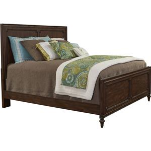 Broyhill Furniture Cranford California King Wood Panel Bed