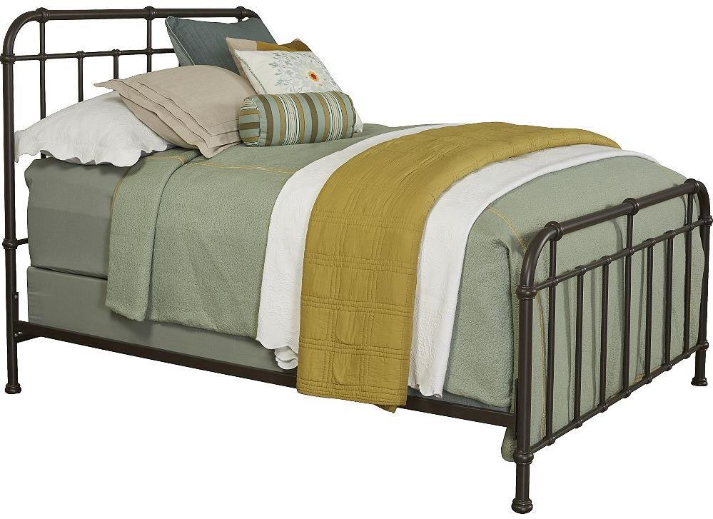 Broyhill Furniture Cranford Queen Metal Spindle Bed - Item Number: 4800-270+271+470