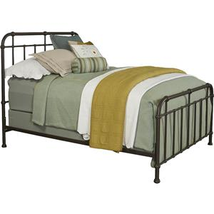 Broyhill Furniture Cranford Queen Metal Spindle Bed