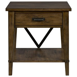 Broyhill Furniture Creedmoor Drawer End Table