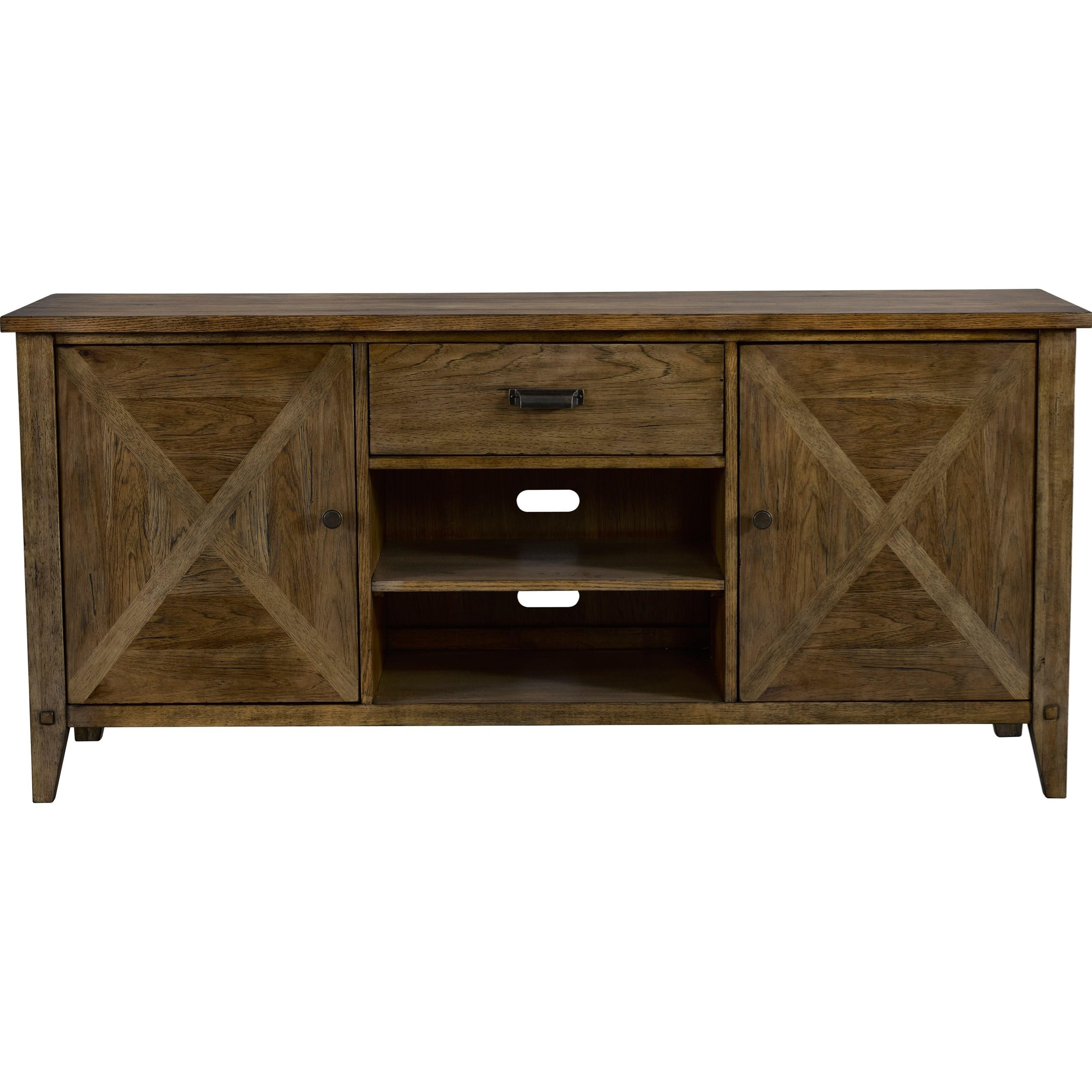 Broyhill Furniture Creedmoor Entertainment Console Item Number 3113 055