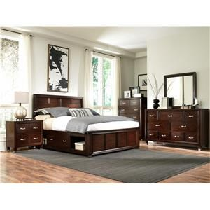 Broyhill Furniture Eastlake 2 Queen 4-Piece Bedroom Group