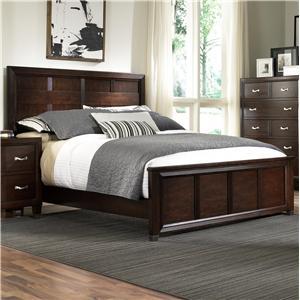Broyhill Furniture Eastlake 2 Queen Panel Headboard and Footboard Bed