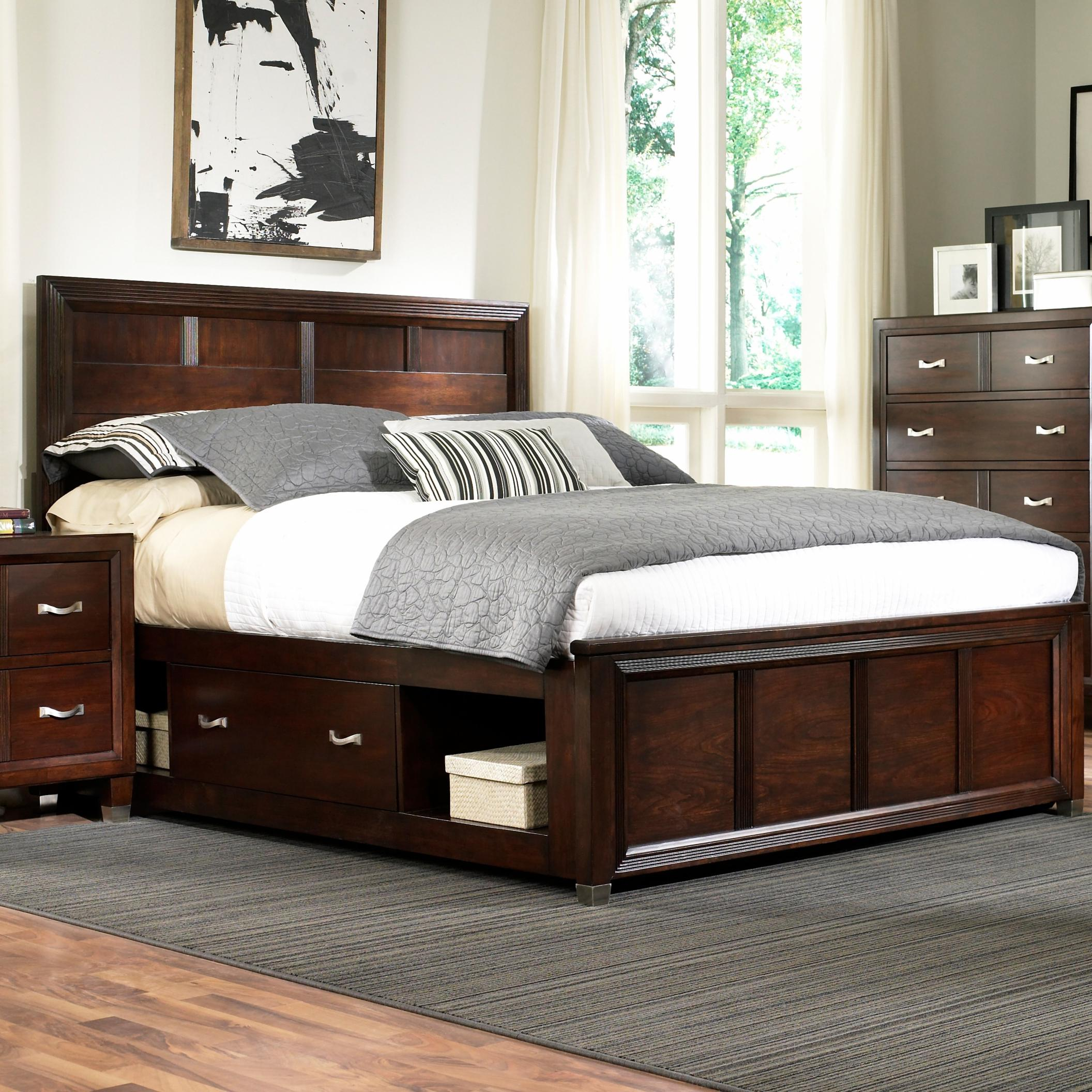 Broyhill Furniture Eastlake 2 Queen Captain\'s Bed with Single ...