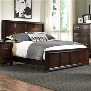 Broyhill Furniture Eastlake 2 California Penal Headboard and Footboard Bed