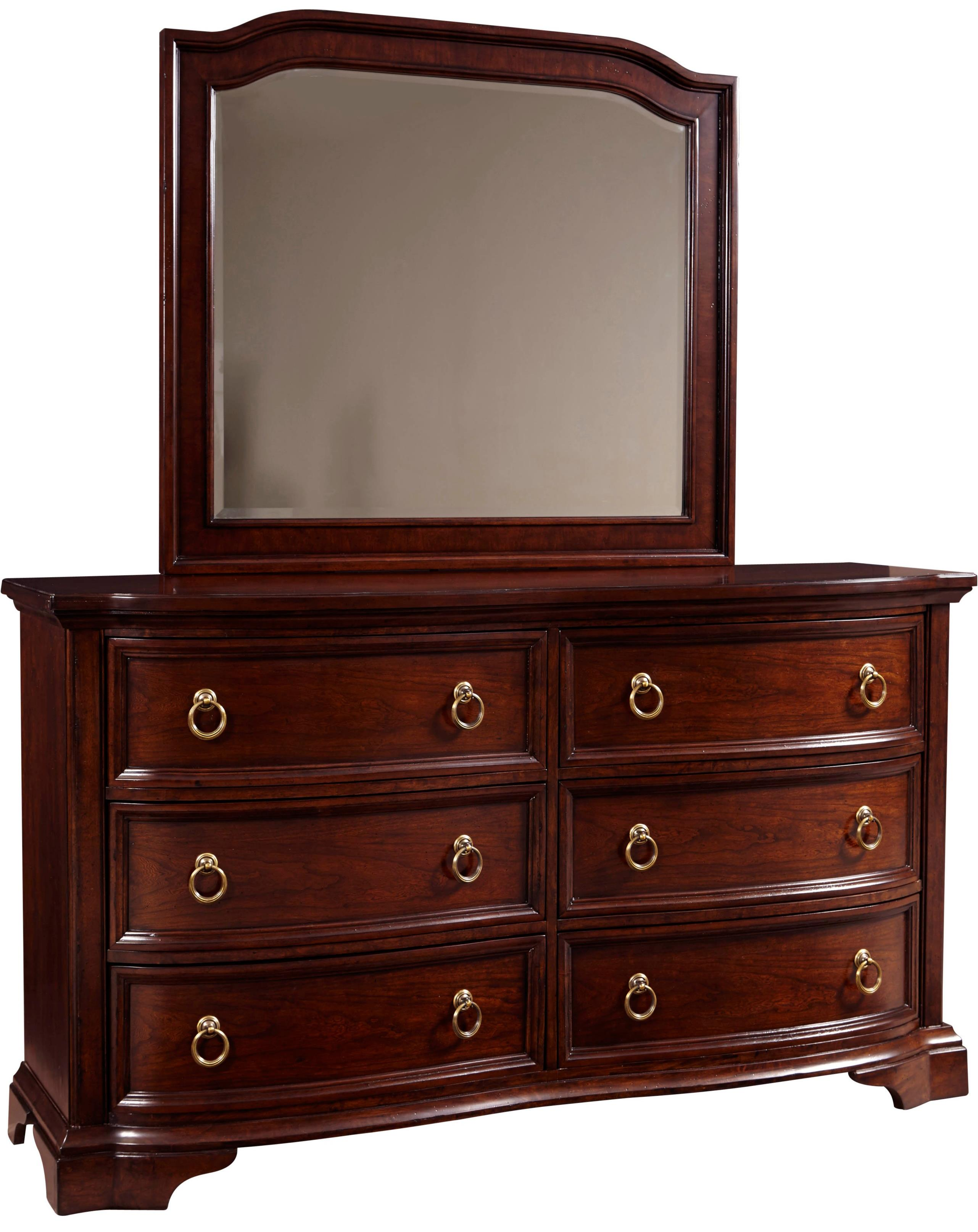 Broyhill Furniture Elaina Dresser and Mirror Set - Item Number: 4640-230+7