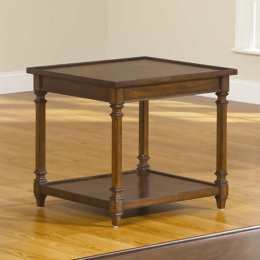 Broyhill Furniture Embassy 2 Rectangular End Table - Item Number: 3262-002