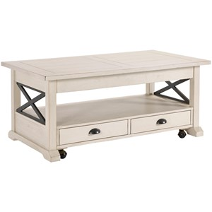 Broyhill Furniture Ester Lift Top Cocktail Table