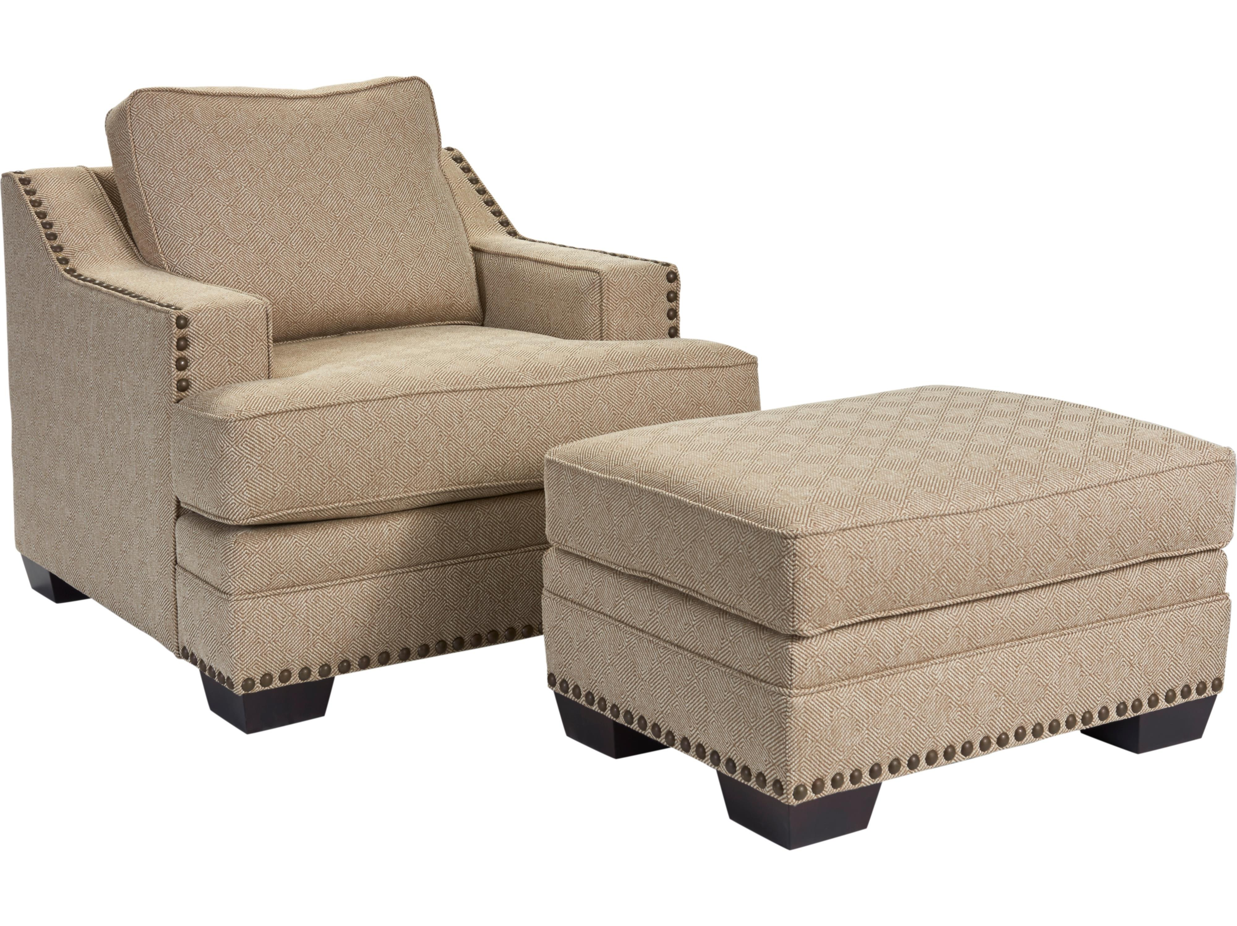 Broyhill Furniture Estes Park Chair and Ottoman Set - Item Number: 4263-0+5-4263-82