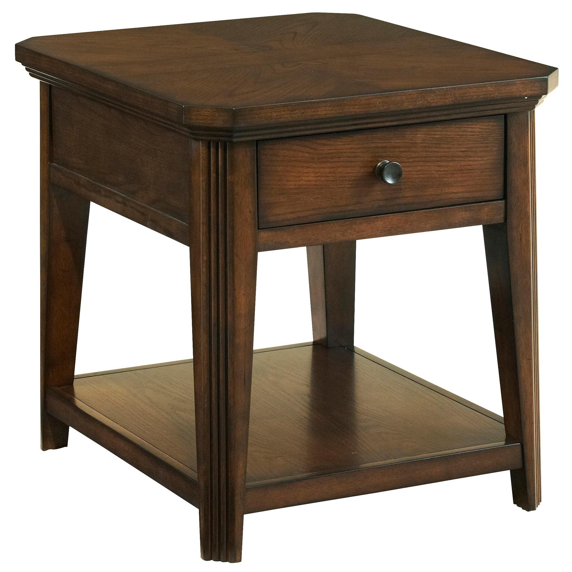 Broyhill Furniture Estes Park Drawer End Table - Item Number: 4364-002