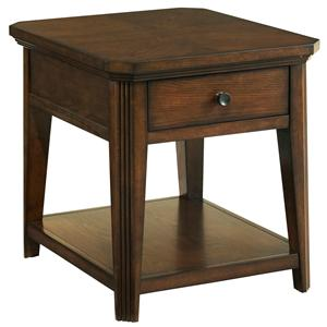 Broyhill Furniture Estes Park Drawer End Table