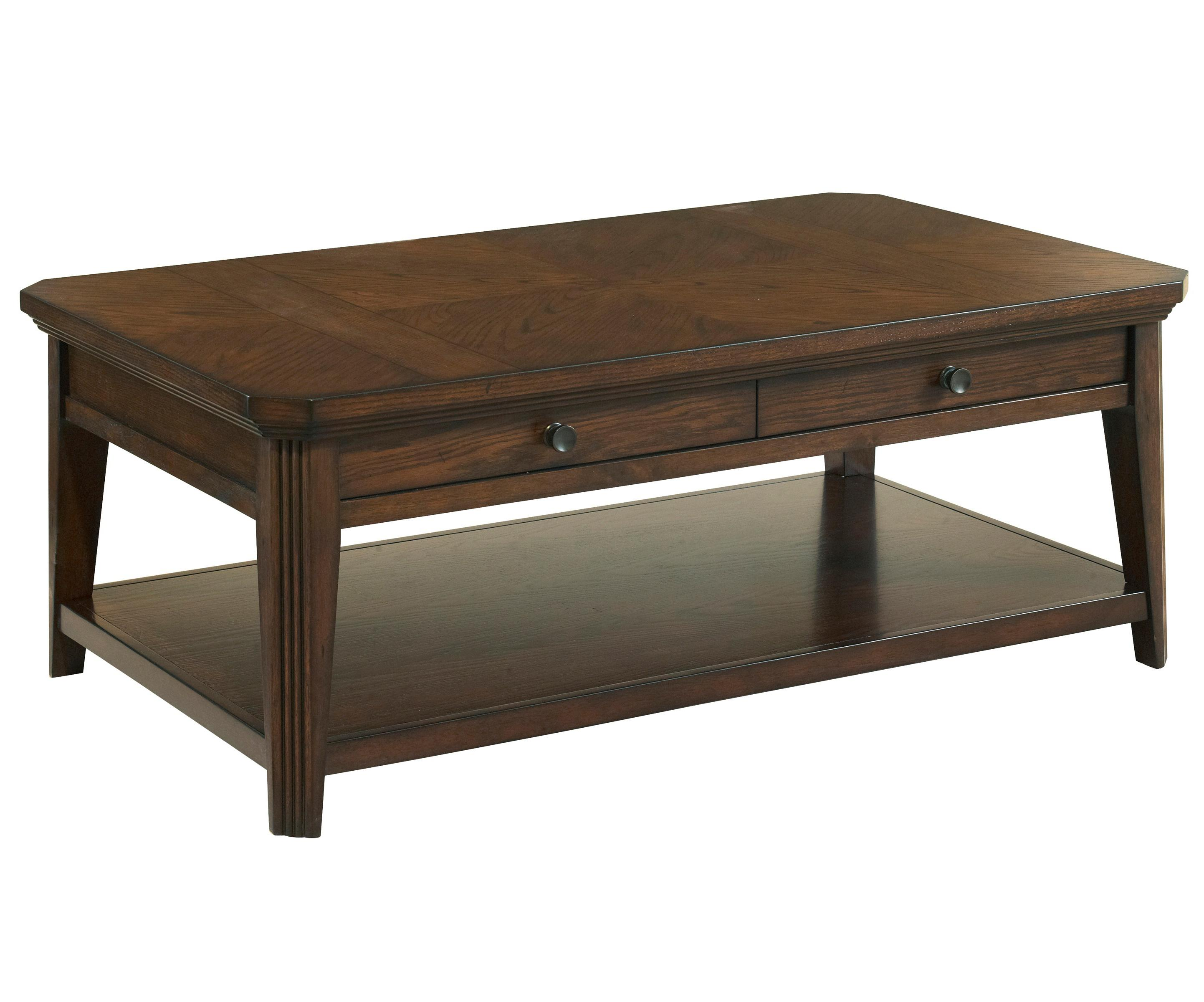 Broyhill Furniture Estes Park Storage Cocktail Table - Item Number: 4364-011