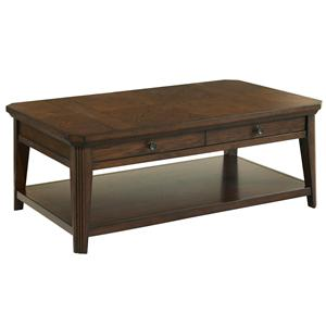 Broyhill Furniture Estes Park Storage Cocktail Table