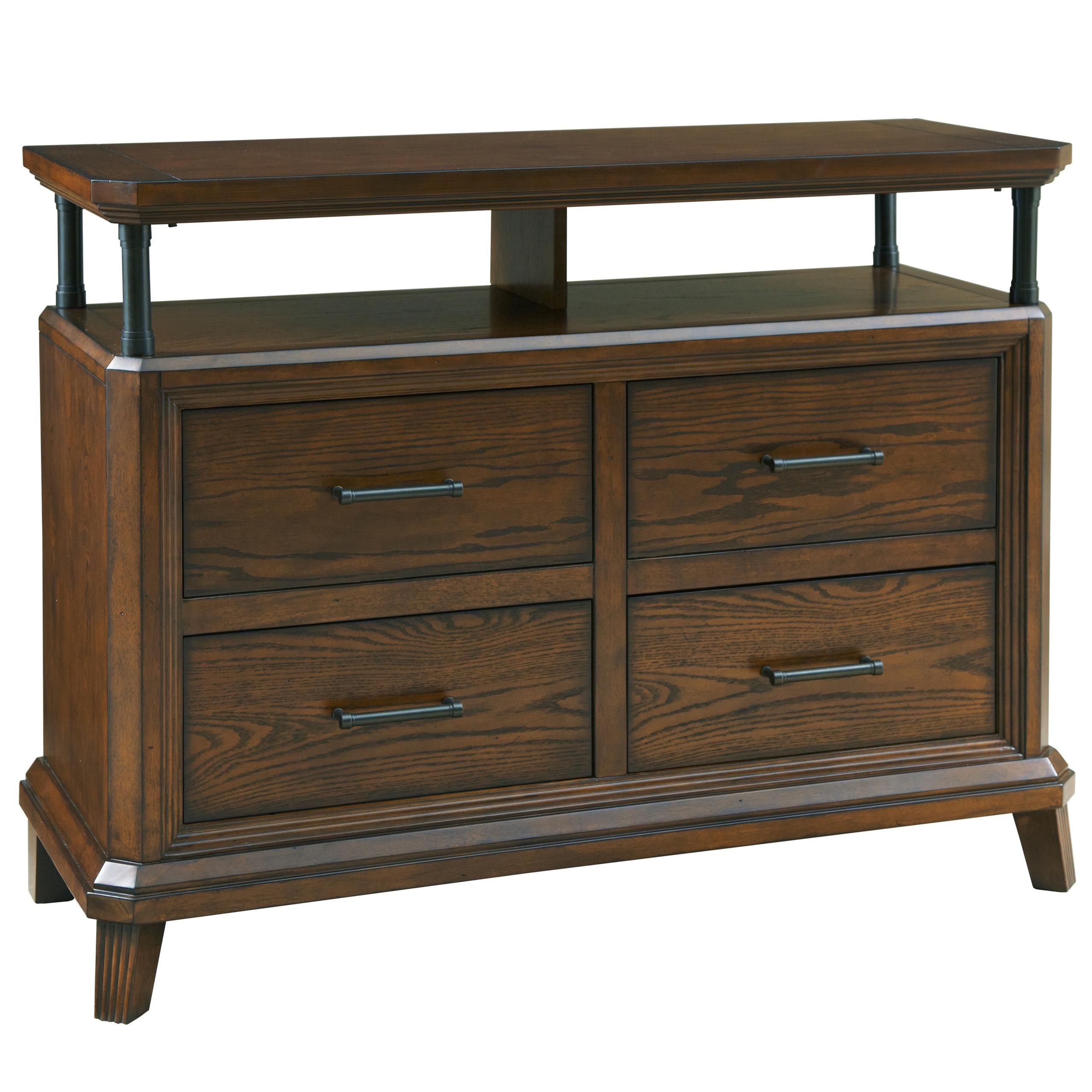 Broyhill Furniture Estes Park 4 Drawer Media Chest | FMG ...