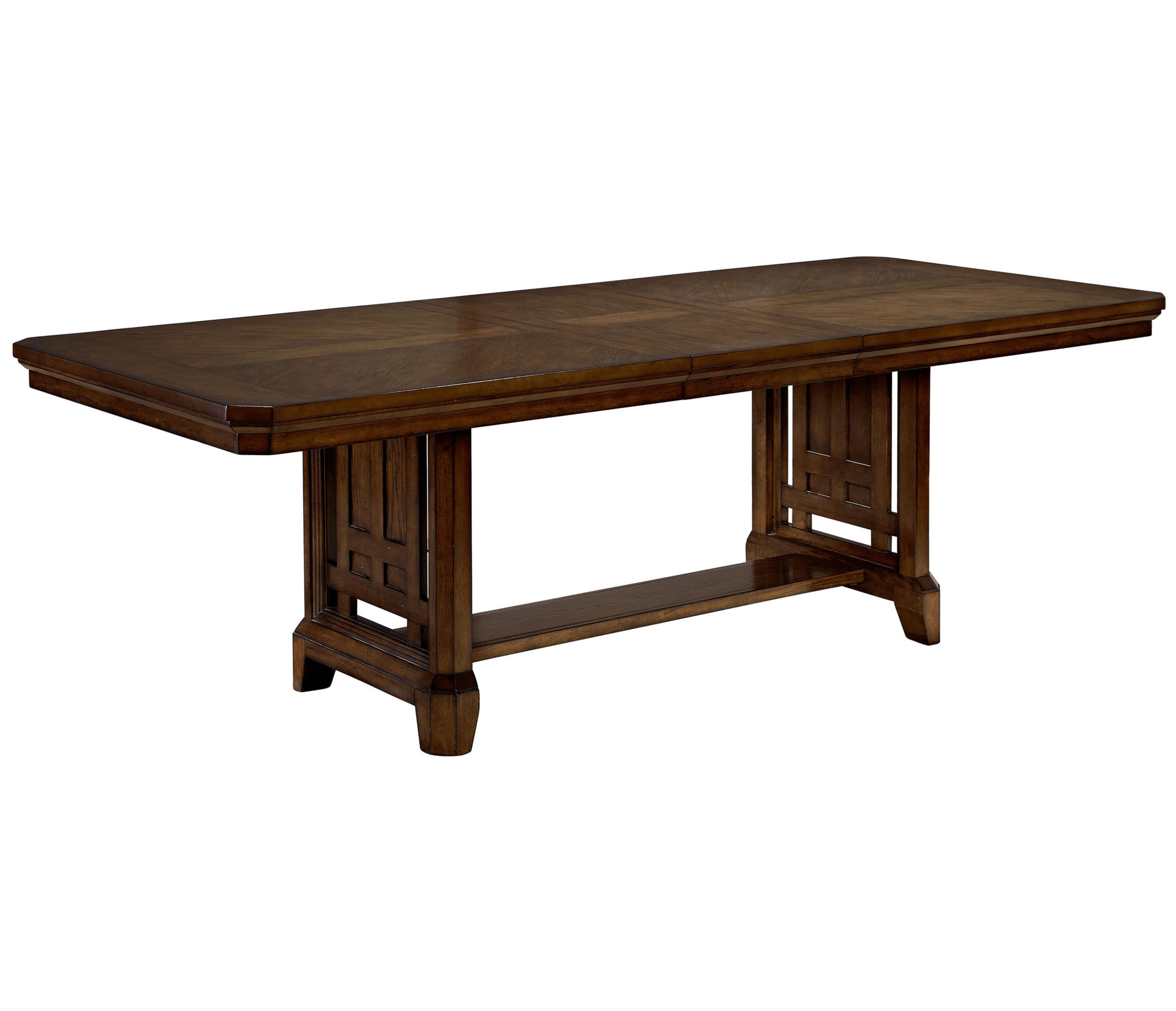 Broyhill Furniture Estes Park Trestle Table - Item Number: 4364-553+31