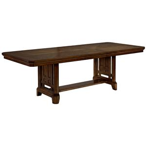 Broyhill Furniture Estes Park Trestle Table
