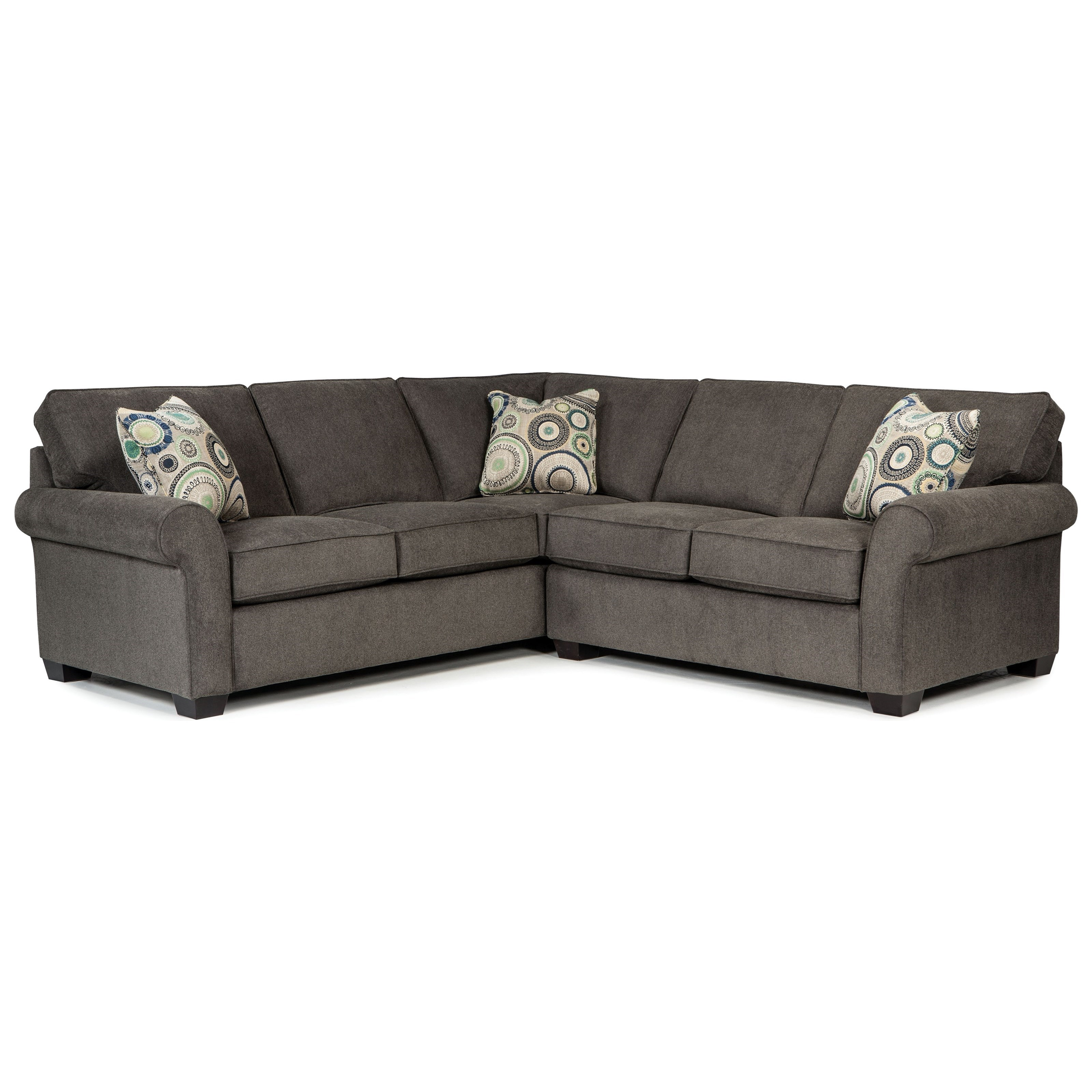 Broyhill Furniture Ethan Two Piece Sectional - Item Number: 6627-1+4-8957-96