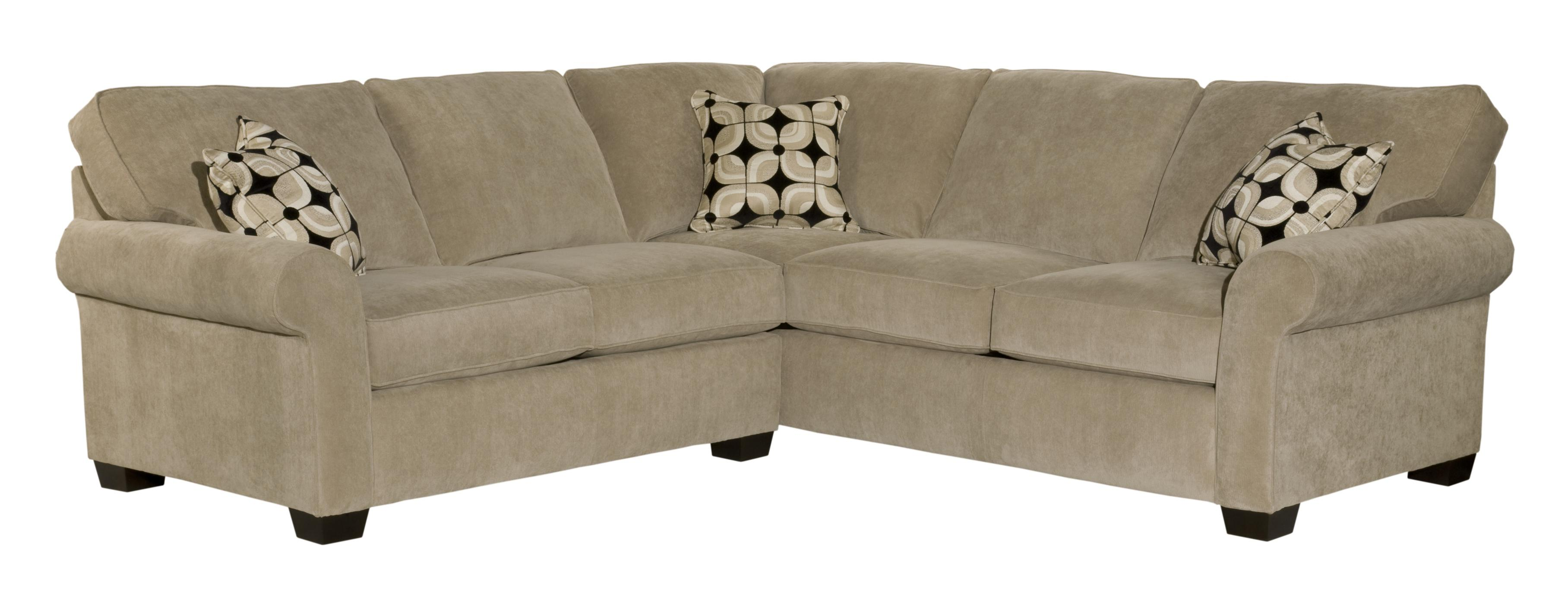 Broyhill Furniture Ethan Two Piece Sectional - Item Number: 6627-1+6627-4