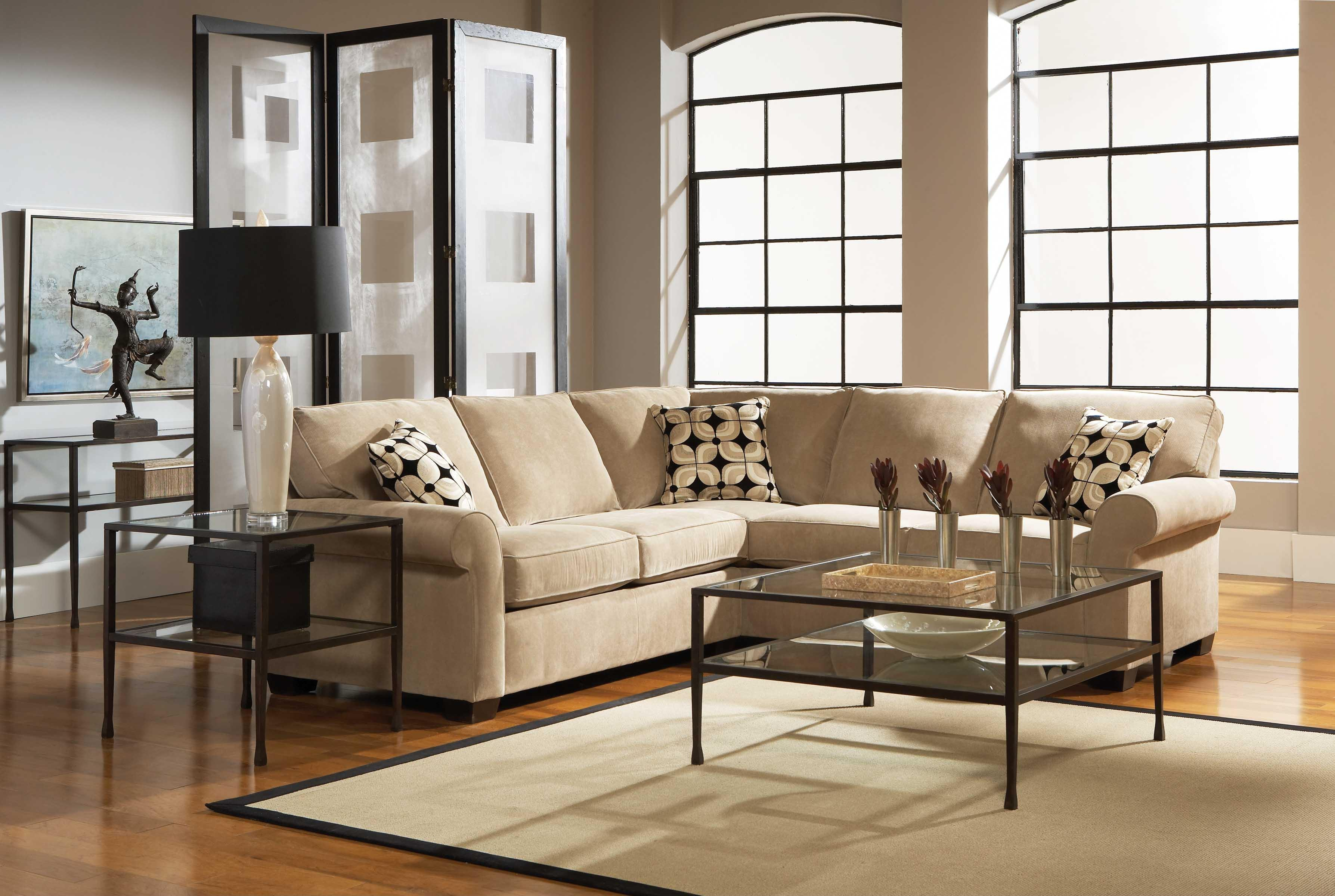 Broyhill Furniture Ethan Two Piece Sectional With Corner