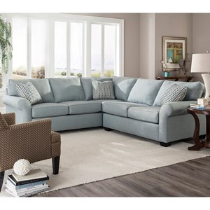 Broyhill Furniture Ethan Two Piece Sectional