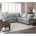Broyhill Furniture Ethan Two Piece Sectional - Item Number: S6627-1+4-40429-0000