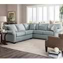 Broyhill Furniture Ethan Two Piece Sectional - Item Number: S6627-2+3-40429-0000