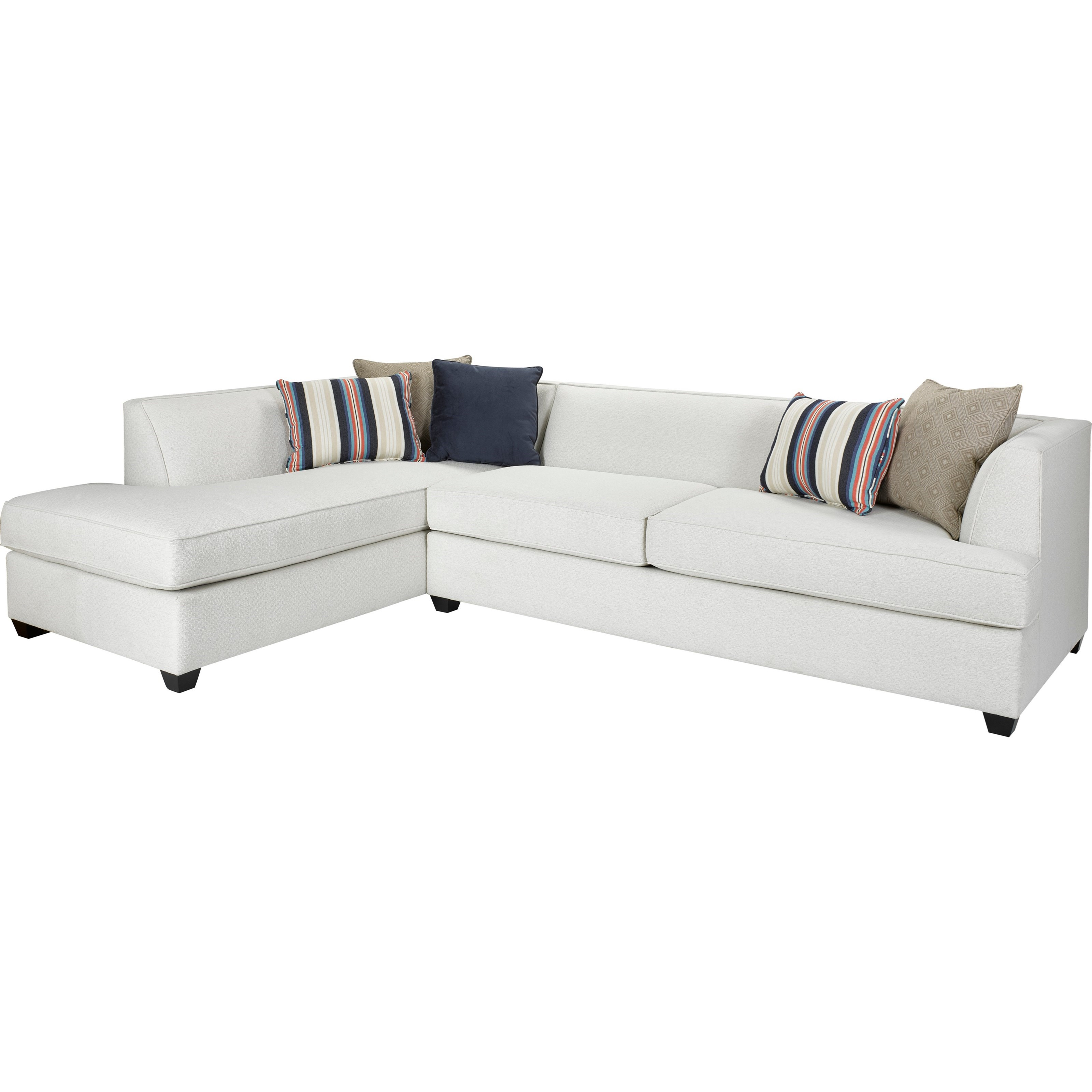 Broyhill furniture farida 2 piece sectional sofa with laf for Broyhill caitlyn chaise