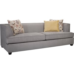 Broyhill furniture farida 2 piece sectional sofa with raf for Broyhill chaise lounge