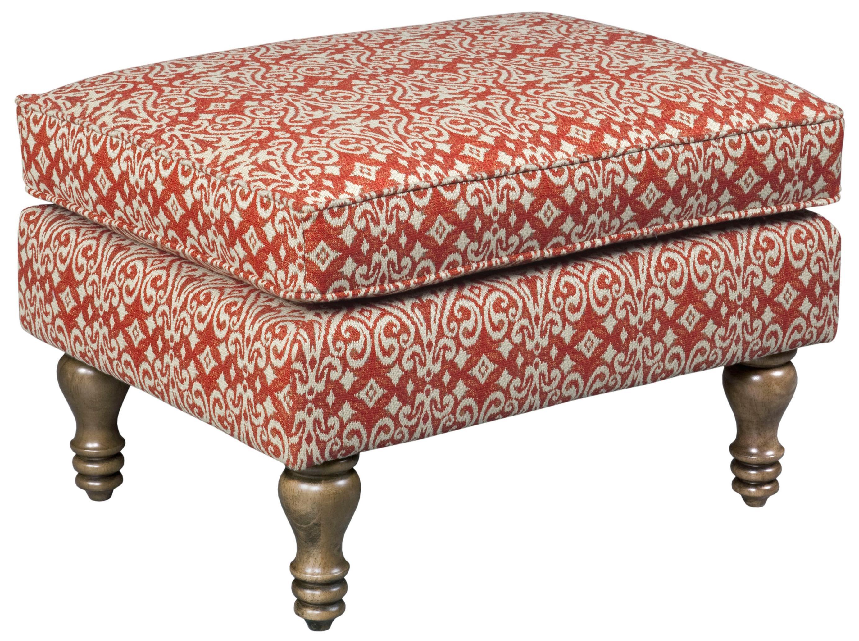 Broyhill Furniture Fiona 9077 5 Transitional Chair Ottoman John V Schultz Furniture Ottomans